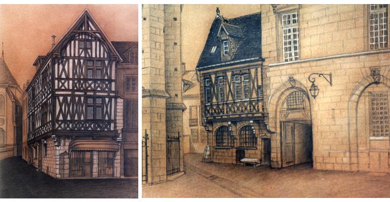 Nos r f rences cr ation dessin et peinture maison mill re dijon dessin for Peinture isolante phonique dijon