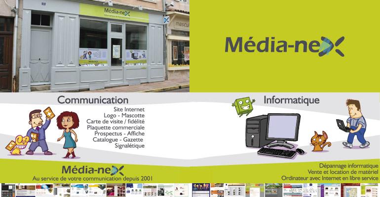 Nos références- Création Vitrines - Média-neX - Vitrine.